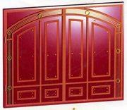 Металлические вороты,  решетки,  двери и кованые изделие
